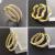 Women Micro Plated Gold Rhinestone Round Earring You will Love