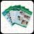 "Montessori Text Book Series ""Grade UKG Books"" A set of 6 books"